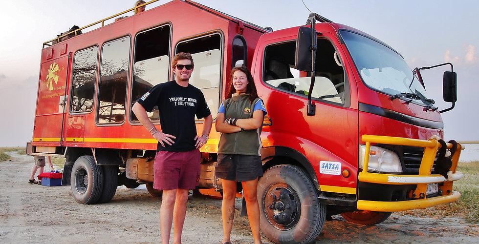 Sunway operations safari truck Alexandra