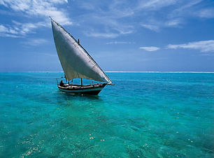 Sunway Mozambique traditional dhow (Kerr