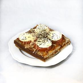 Bruschetta chèvre-tomate