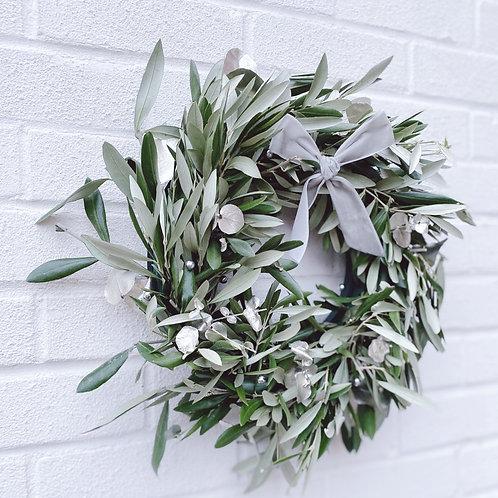 Pure Olive Leaf - Wreath Kit