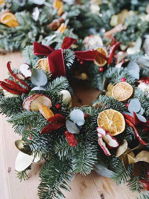 Elegant Gold - Wreath Kit