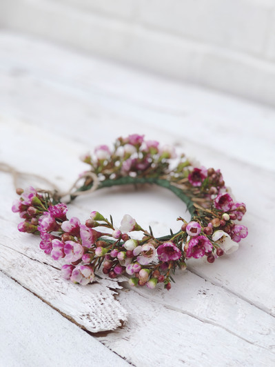 WaxFlower Flowercrown