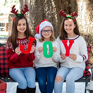 Brannen Girls' Christmas 2019