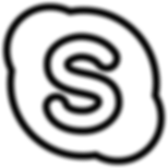 large skype logo
