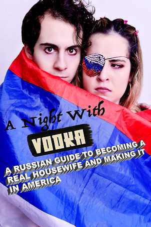a night with vodka (natasha&robert) logo