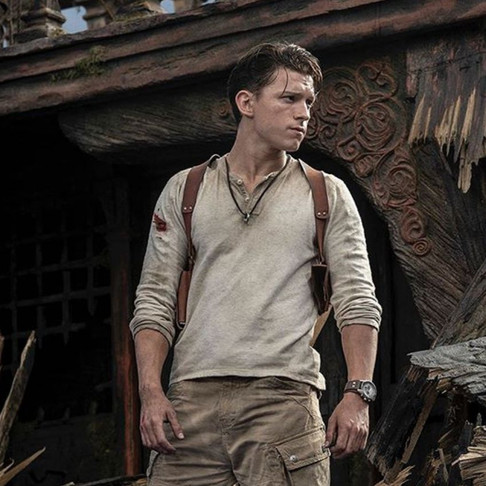 Tom Holland as Uncharted's Nathan Drake
