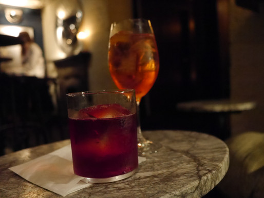 Perfect your winter Negroni