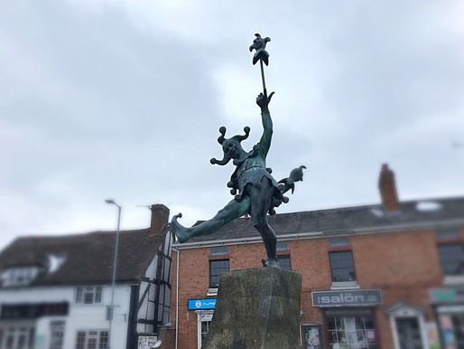 A cold day in Shakespeare country