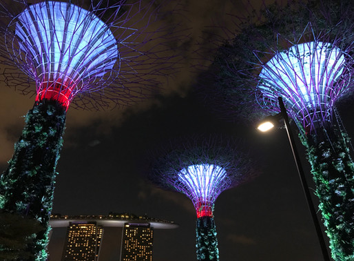 Champagne rooftop nights in Singapore