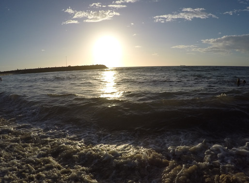 Fremantle, Sunsets and Christmas Day in Oz