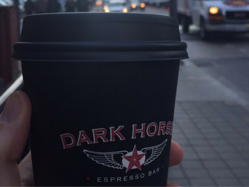 Coffee time: The Dark Horse, Toronto