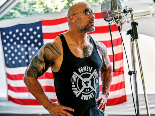Monday work inspiration from The Rock
