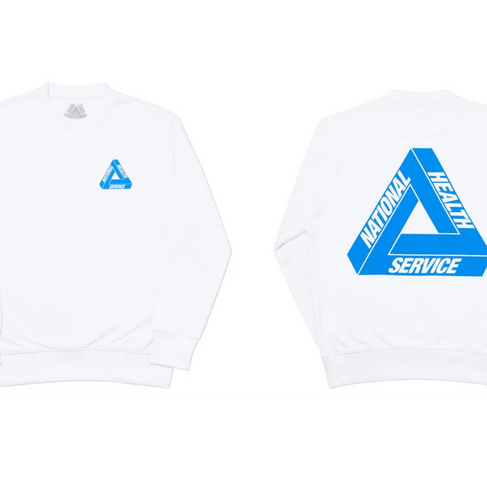Palace Skateboards and the jumper for our time