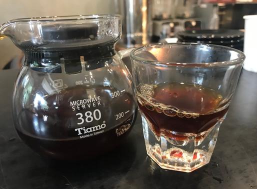 The best coffee in the world: Black Eye Coffee, Ubud