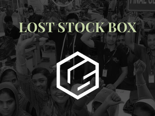 You should be shopping with Lost Stock