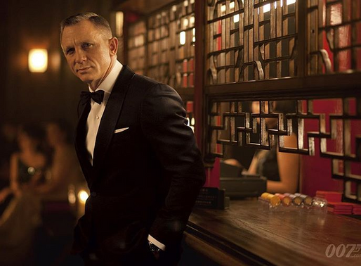 Breaking news: James Bond drinks too much