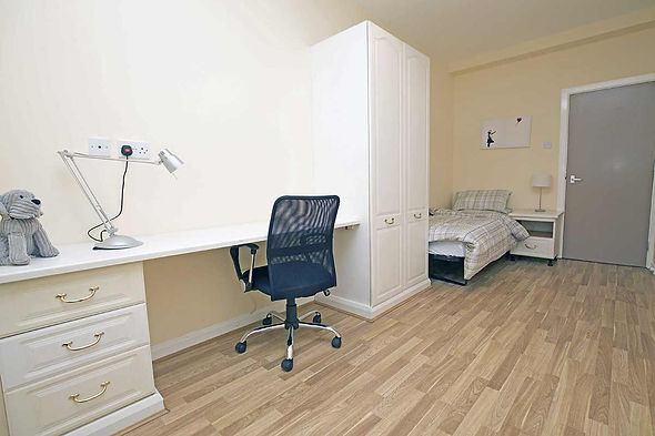 Lime Court student bedroom liverpool