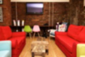 TV Lounge at International Inn