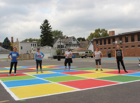 St. Viator Adds a Peaceful Playground