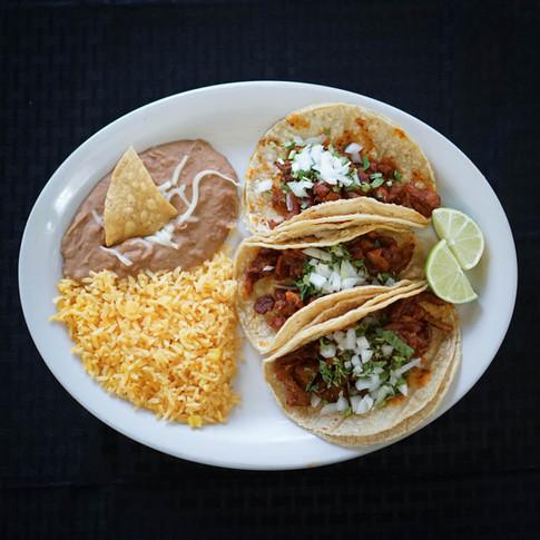 Tacos, Burritos, Tortas, & more!