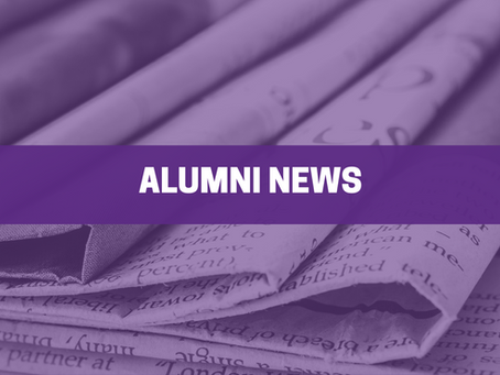Alumni News - Volume 2: Issue 3