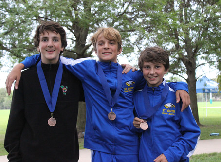 Cross Country Takes Home 4 Medals