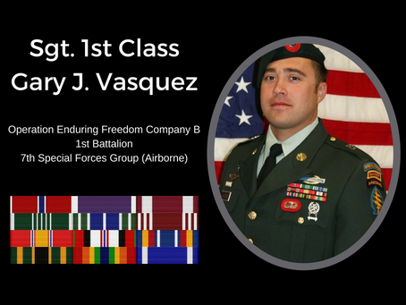 This Memorial Day, we remember Brother Gary J. Vasquez