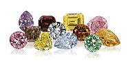 Natural color diamond collection.