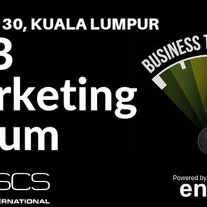 Nathanael to speak at the B2B Marketing forum