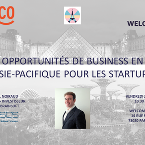 Upcoming keynote at Paris&Co for our CEO