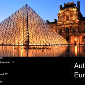 Announcing our Autumn 2019 Euro Tour