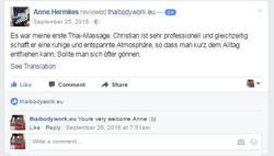 Massage Berlin zertifiziert
