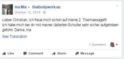 Thaimassage Berlin Ausbildung