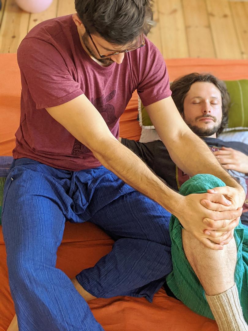 Thai Yoga Massage Ausbildung Training Yoga
