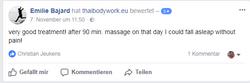 Thai Yoga Massage Berlin Wedding