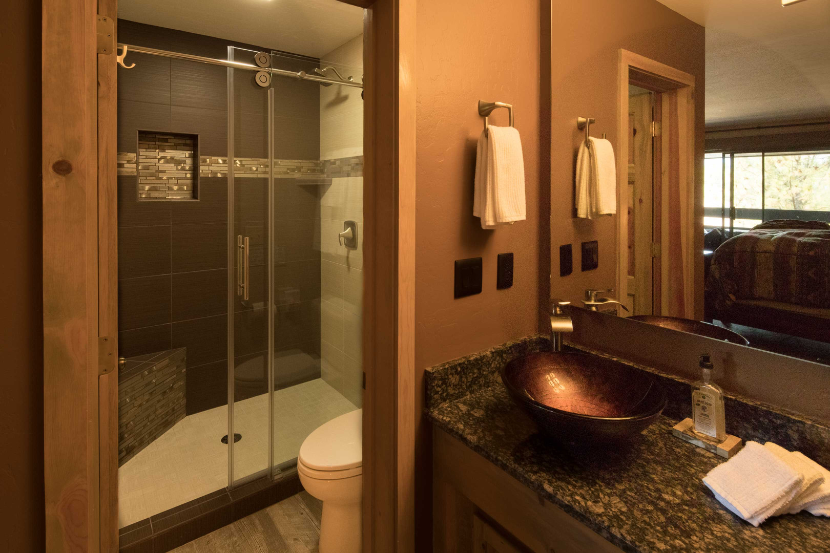 Each Bathroom has Spa Amenities & Local Complimentary Toiletries