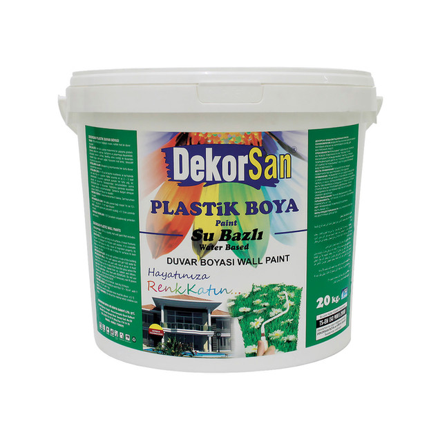 SILICONE WATER BASED SATIN WALL PAINT