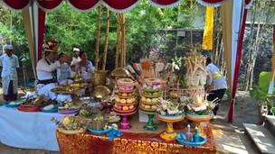 Die Melaspas-Zeremonie