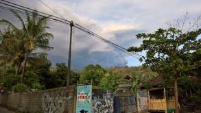 Agung's second eruption