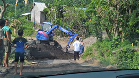 Baustelle in Bangle