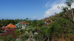 Above the rooftops of Lipah