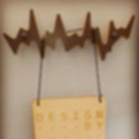 designbynebabbott, 'your beating heart' coat hook.
