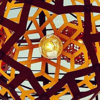 designbynebabbott, Sphere Diamond from below @ alty market.