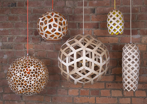 Decorative wooden lighting