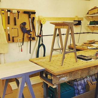 designbynebabbott, Prestwich workshop.