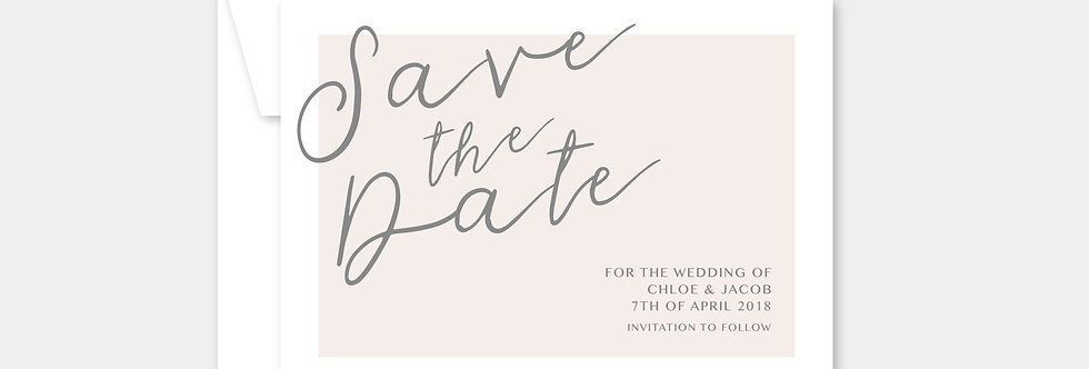 SAVE THE DATE no.7013 printing