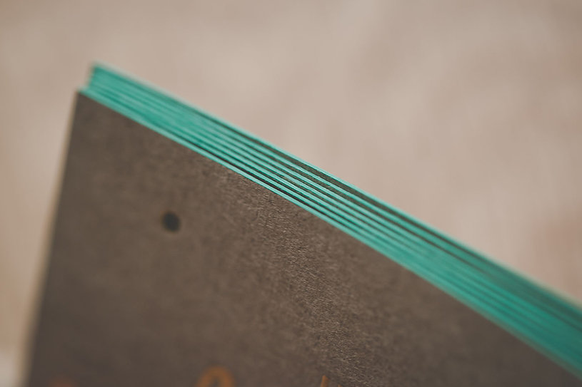 calmsea creative | matte silver foil | blue foil