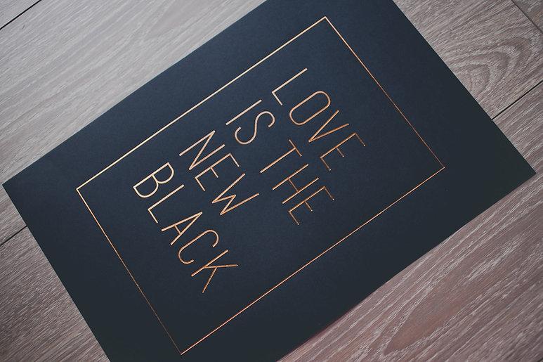 printed by Stitch Press | stitchpress.com.au | matte gold foil print