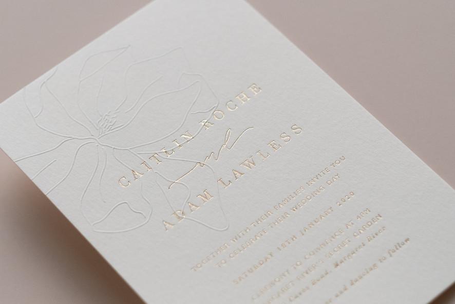 C & A invitations