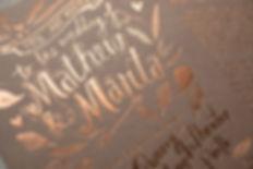 printed by Stitch Press | stitchpress.com.au | copper foil on kraft card